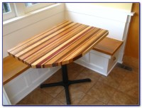 Kitchen Table With Storage Underneath - Bench : Home ...