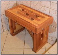 Wooden Bench For Bathroom Sink - Bench : Home Design Ideas ...