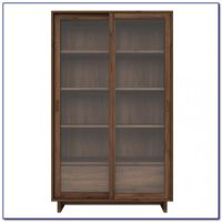 Modern Walnut Bookcase - Bookcase : Home Design Ideas # ...