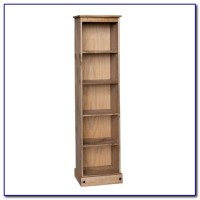 Tall Narrow Bookcase With Doors - Bookcase : Home Design ...
