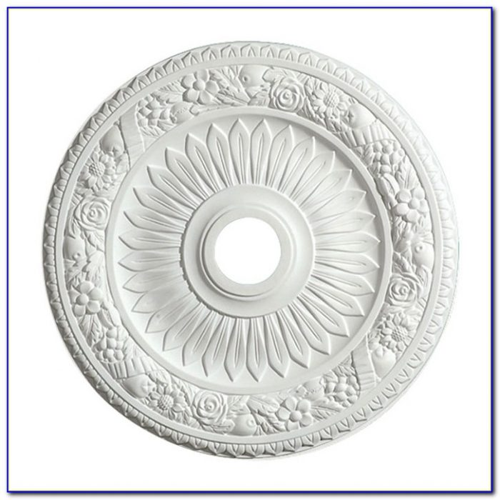 Ceiling Medallion Two Piece