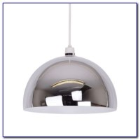 White Acrylic Dome Ceiling Pendant Light - Ceiling : Home ...