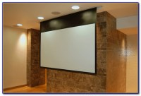 Hang Projector Screen From Drywall Ceiling - Ceiling ...