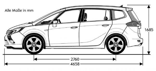 Toyota Verso Abmessungen Technische Daten Länge Breite