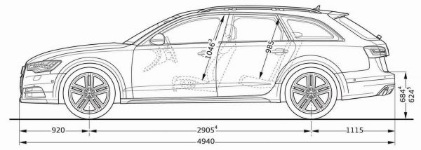 Audi A6 Technische Daten. audi4ever a4e blog detail presse