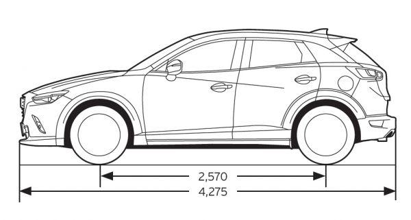 Mazda 3 Anhängelast