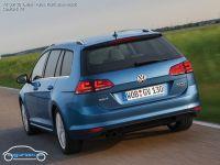 VW Golf VII Variant Pacific Blue Metallic - Farben