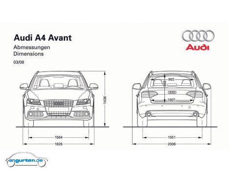 Audi A4 Avant (B8)- Fotos & Bilder
