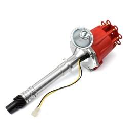 distributor gm 2 wire small cap billet vacuum angus racing [ 1600 x 1600 Pixel ]