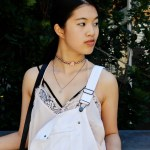 :: Outfit – Berlin Fashion Week Day 1 in White Dungarees