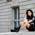 :: Outfit -Pencil Skirt & Platform Boots