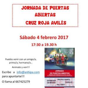 ACTIVIDAD DE OCIO COMPARTIDO: JORNADA DE PUERTAS ABIERTAS CRUZ ROJA AVILÉS