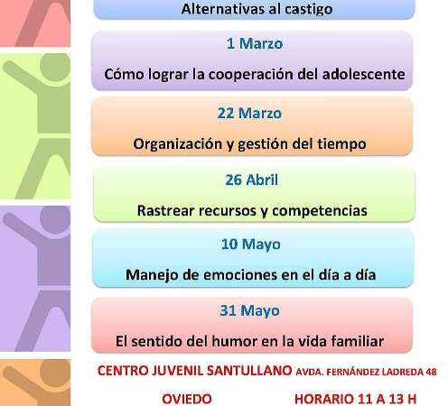 Escuela de Familias con Hijos/as Adolescentes