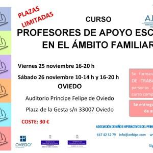 3ª Edición del Curso de Profesores de Apoyo Escolar en el Ámbito Familar (especialistas en TDAH)