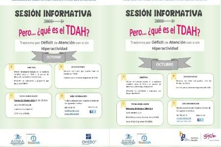 Sesiones Informativas sobre TDAH