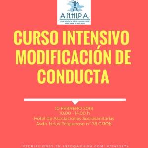 Curso intensivo TDAH y curso intensivo técnicas modificación conducta
