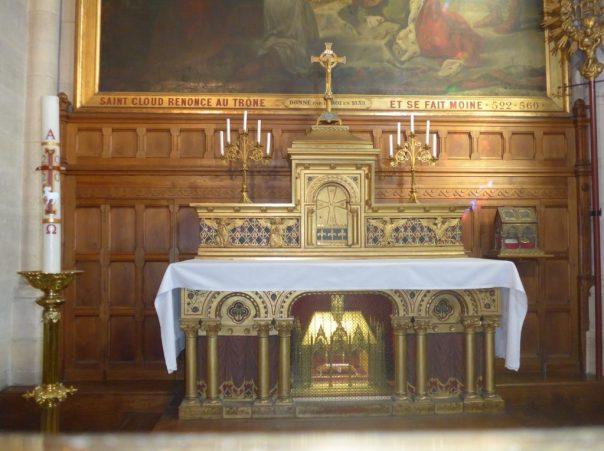relics of St Clodoald, St Cloud