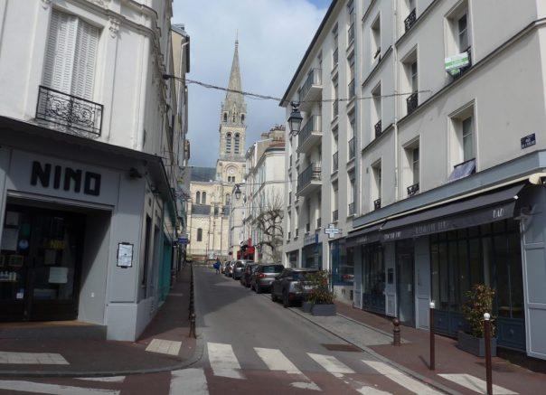 Rue de l'Eglise, St Cloud