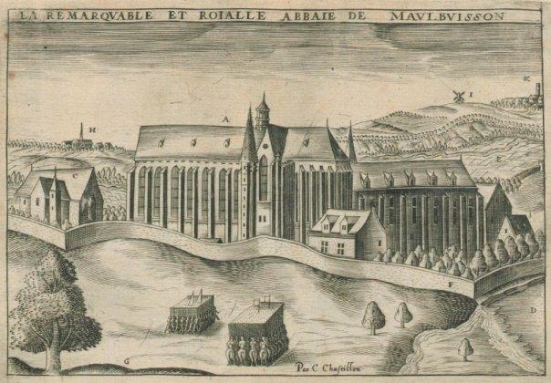 Abbaye de Maubuisson, early 17th century