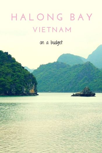 halong bay on a budget