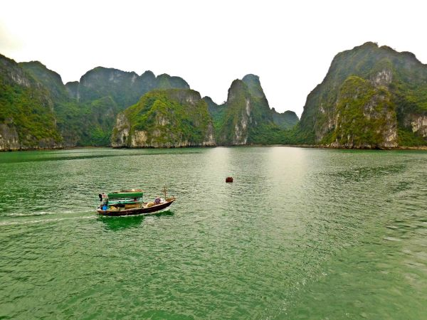 Halong Bay is Vietnam's top tourist draw. I can certainly understand why.