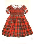 Plaid Smocked Girls Dresses