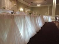 Head Tables Rentals Hamilton, Niagara Falls, Burlington