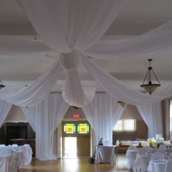 Ruched Chair Covers Office Executive Chairs Coimbatore Wedding Ceiling Draping Rental Photos