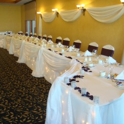 White Ruched Chair Covers Modern Windsor Wedding Reception - Rattlesnake Point Golf & Country Club Milton, Ontario