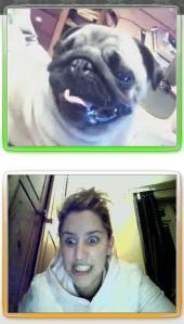 perro-y-yo hablando por messenger