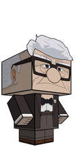 viejo up carl fredricksen recortable