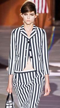 tendencia 2013 rayas blancas y negras