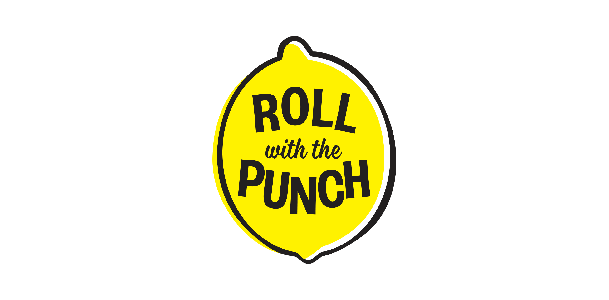 roll with the punch logo