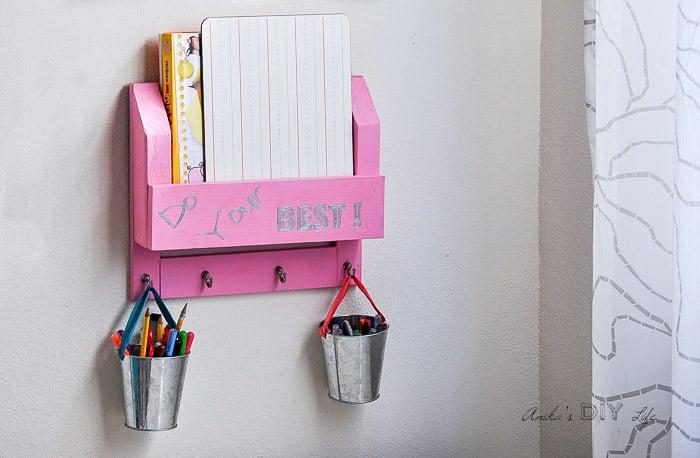 Diy Desk Organizer Description Of A Desk Desk Clip Art Small ...
