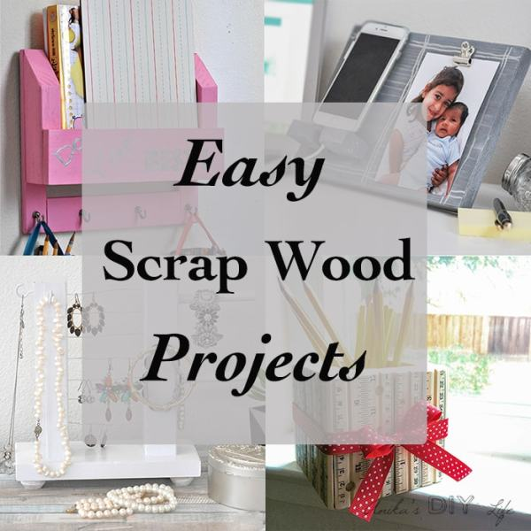 Easy scrap wood project ideas. easy woodworking projects for beginners