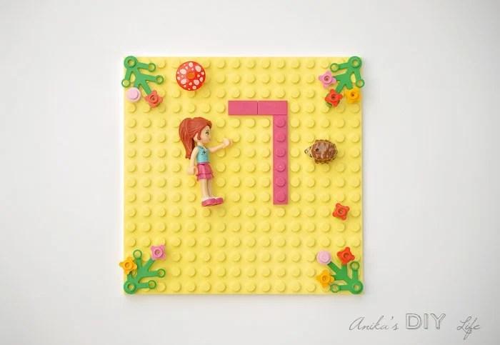 lego friends party invitation