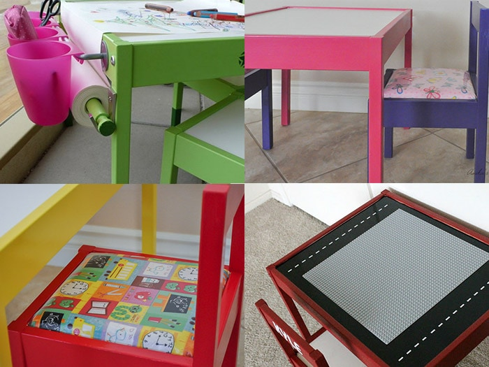 ikea kids table and chairs cream leather dining latt chair hacks 12 ways to do it anika s diy life ideas these are some awesome makeover