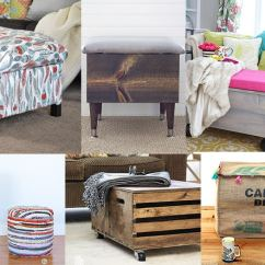 Living Room Ottoman Ideas Ikea Small 20 Diy Storage For Every Skill Or Budget Amazing To Create The Most Functional Piece In Your Rooom