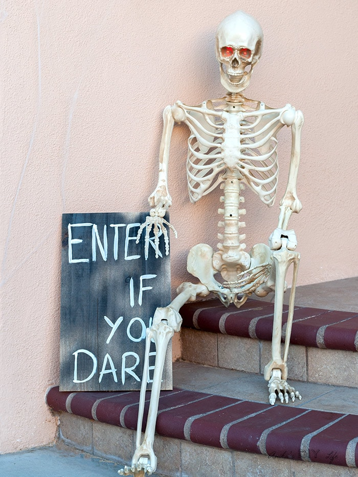 Front Porch Halloween Decorations With The Home Depot Anika S Diy Life