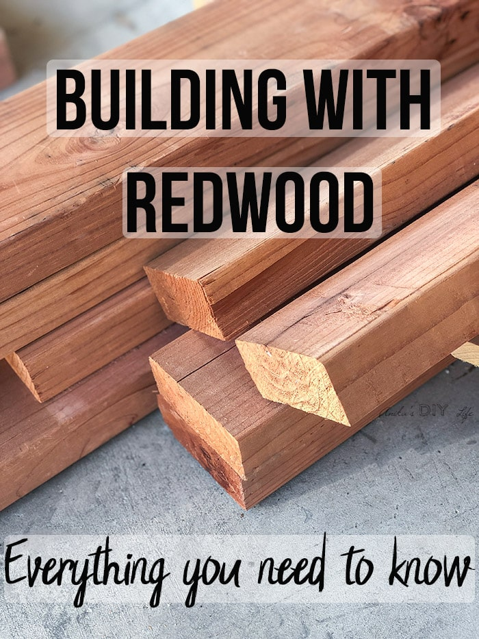 How To Seal Redwood Furniture