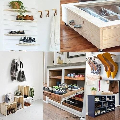21 brilliant diy shoe storage ideas for