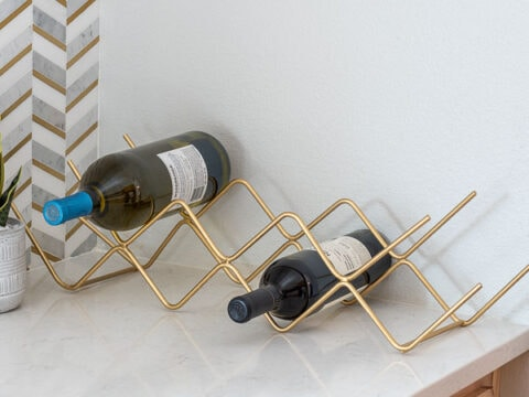 how to make a diy steel wine rack no