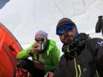 Khan Tengri kamp 3 (5900m)