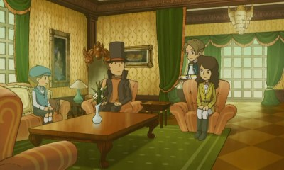 Tráiler de Professor Layton and the Miracle Mask para 3DS