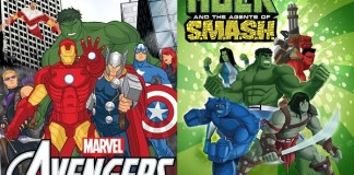Marvel's Avengers Assemble y Hulk and the Agents of SMASH