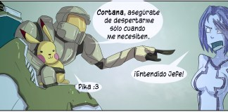 Web cómic de Halo