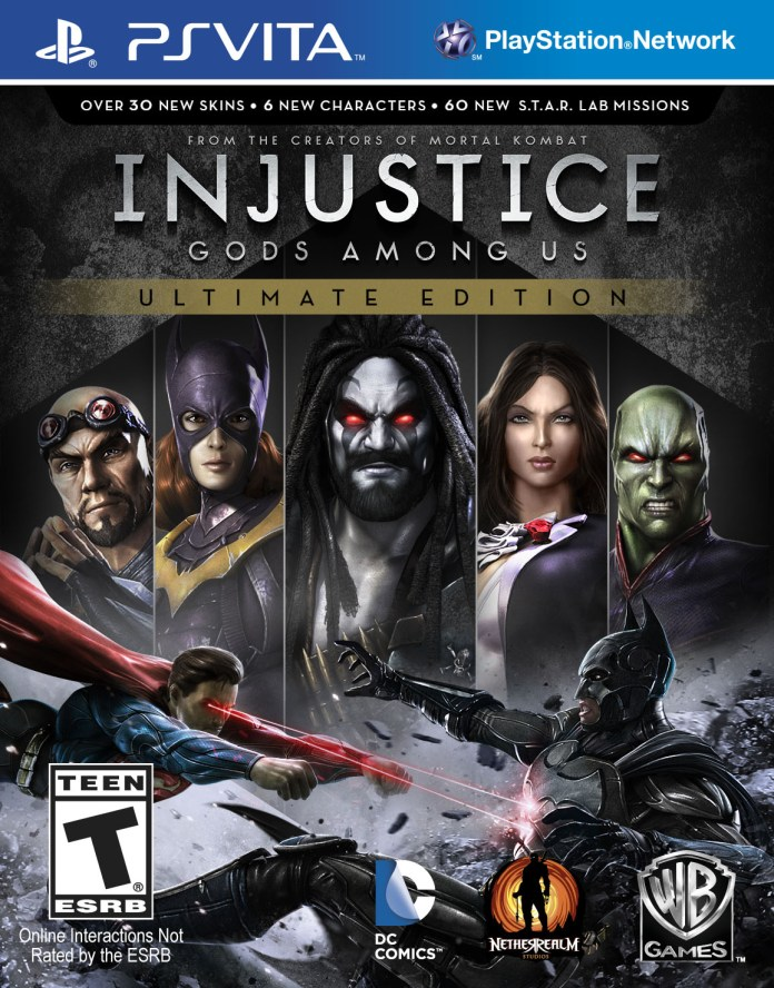 WB Interactive anuncia Injustice: Gods Amongs – Ultimate Edition