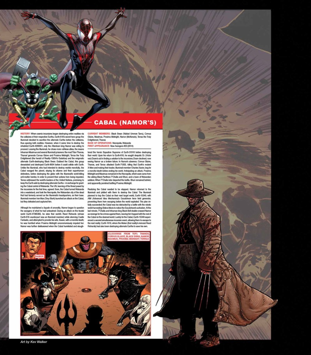 SECRET WARS - OFFICIAL GUIDE TO THE MARVEL MULTIVERSE #1