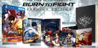 The King of Fighters XIV Premium Edition.