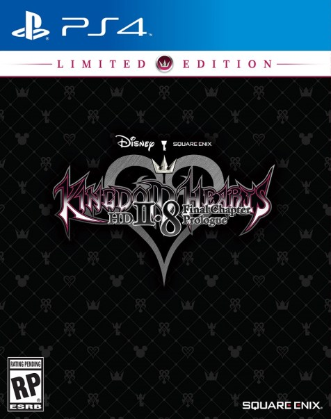 Caja de la edición limitada de Kingdom Hearts HD 2.8: Final Chapter Prologue.